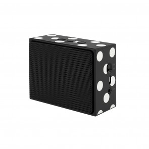 kate spade new york Portable Wireless Speaker - Black/Cream Dots