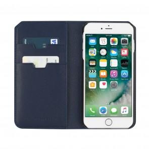 Uri Minkoff Saffiano Leather Folio Case for iPhone 7 Plus - Navy