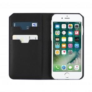 Uri Minkoff Saffiano Leather Folio Case for iPhone 8, iPhone 7 - Black