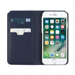 Uri Minkoff Saffiano Leather Folio Case for iPhone 7 - Navy