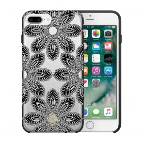 Vera Bradley Hybrid Case for iPhone 7 Plus & iPhone 6/6s Plus - Blanco Bouquet Black/Cream