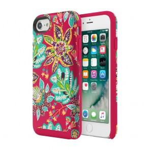 Vera Bradley Hybrid Case for iPhone 7 & iPhone 6/6s - Rumba Floral Multi/Red