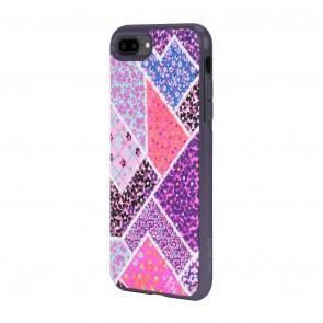 Vera Bradley Quilted Inlay Case for iPhone 8 Plus & iPhone 7 Plus - Multi/Elderberry Microfiber Diamond Quilt