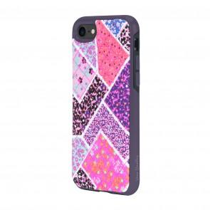 Vera Bradley Quilted Inlay Case for iPhone 8, iPhone 7 -Multi/Elderberry Microfiber Diamond Quilt