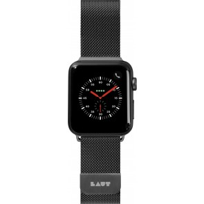 Laut STEEL LOOP For Apple Watch Series 1-5 Black (42/44mm)