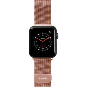 Laut STEEL LOPE For Apple Watch Series 1-4 Rose Gold (38/40mm)