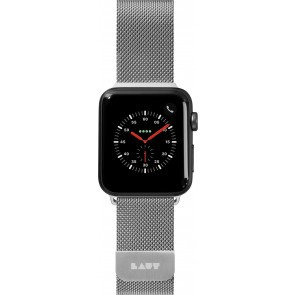 Laut STEEL LOOP For Apple Watch Series 1-5 Silver (42/44mm)