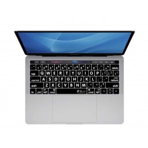 KB Covers Large Type Keyboard Cover for MacBook Pro (Late 2016+) w/ Touch Bar