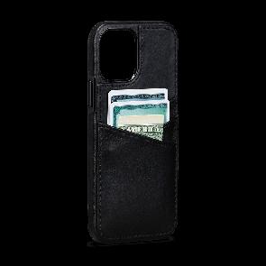 Sena Lugano Wallet iPhone 12 Pro Max Black