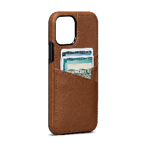 Sena Lugano Wallet iPhone 12 Pro Max Brown