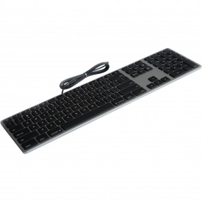 Matias Wired Aluminum Keyboard for Mac - Space Gray