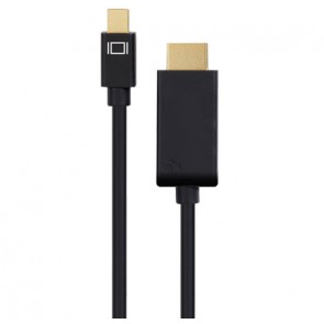 Mini DisplayPort to HDMI Cable 10 foot (3.0 Meter) with Audio Support