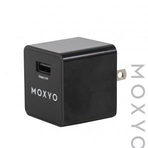 Moxyo MXY Wall Adapter Single 2.4A Black