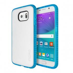 Incipio Octane for Samsung Galaxy S6 Flat -Frost/Neon Blue
