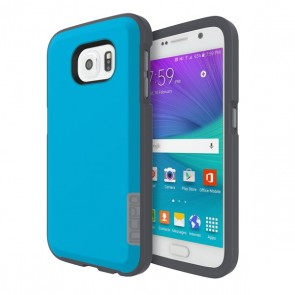 Incipio Phenom for Samsung Galaxy S6 Flat - Neon Blue/Charcoal/Gray