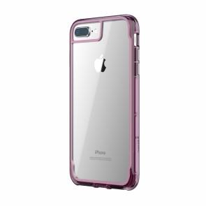 Griffin Survivor Clear - Dusty Pink - iPhone 8 Plus/7 Plus/6 Plus/6S Plus