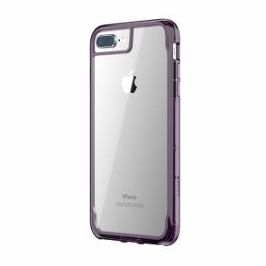 Griffin Survivor Clear - Purple Smoke - iPhone 8 Plus/7 Plus/6 Plus/6S Plus