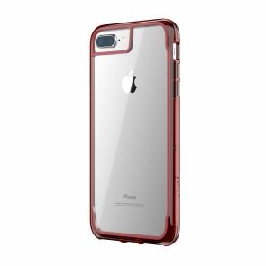 Griffin Survivor Clear - Dark Red - iPhone 8 Plus/7 Plus/6 Plus/6S Plus