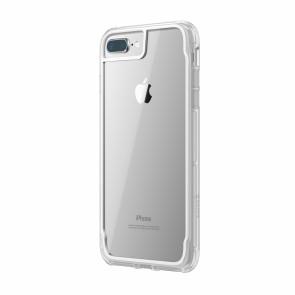 Griffin Survivor Clear - White Dust - iPhone 8 Plus/7 Plus/6 Plus/6S Plus