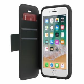 Griffin Survivor Strong Wallet - Black/Deep Grey - iPhone 8 Plus/7 Plus/6 Plus/6S Plus