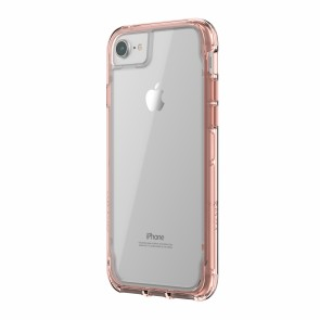 Griffin Survivor Clear -Rose Gold - iPhone 8/7/6/6S