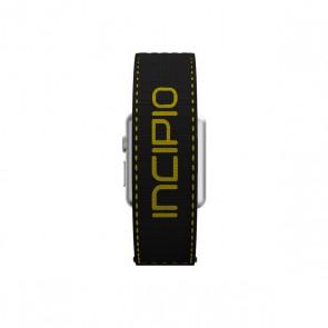 Incipio Stitch Jacquard Band Watch Band for Apple Watch 38mm - Black/Yellow Stitching