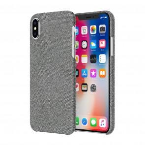 Incipio Esquire Series Slim Case for iPhone X - Gray Fabric