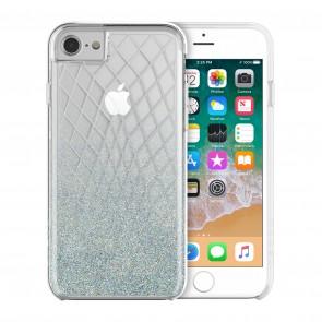 Incipio Design Series - LUX for iPhone 8, iPhone 7, & iPhone 6/6s - Silver Bleu Sparkler