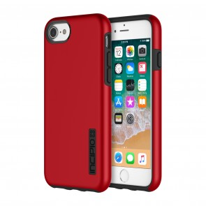 Incipio DualPro for iPhone SE (2020), iPhone 8, iPhone 7, & iPhone 6/6s - Iridescent Red/Black