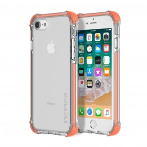 Incipio Reprieve Sport for iPhone 8, iPhone 7 - Coral/Clear