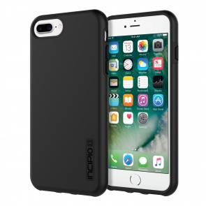 Incipio DualPro for iPhone 8 Plus, iPhone 7 Plus, & iPhone 6/6s Plus - Black/Black