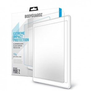 Bodyguardz Pure 2 Glass Screen Protector  for iPad 12.9 iPad Pro 3rd Gen 2018