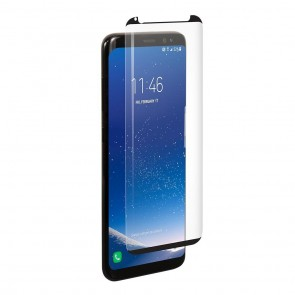 BodyGuardz Samsung Galaxy S8+ Pure Arc Premium Glass Screen Protector