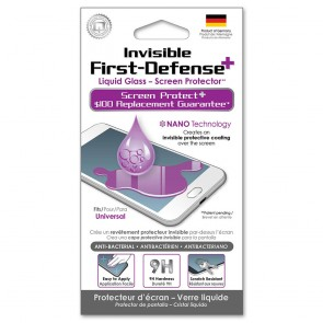 Qmadix Invisible First-Defense+ Liquid Glass Screen Protector $100