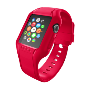 Incipio NGP Strap Watch Band for Apple Watch 42mm - Red