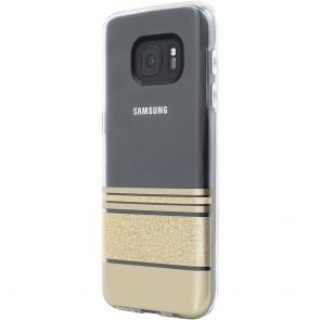 Incipio Design Series Wesley Stripes for Samsung Galaxy S7 -Gold