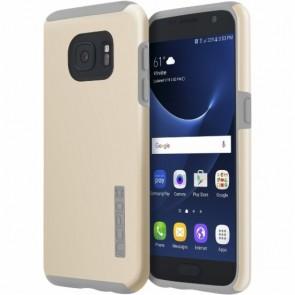 Incipio DualPro for Samsung Galaxy S7 -Champagne/Light Gray