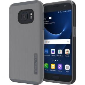Incipio DualPro Shine for Samsung Galaxy S7 -Gunmetal/Gray