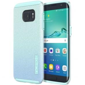 Incipio Design Series DualPro Glitter for Samsung Galaxy S7 edge -Turquoise