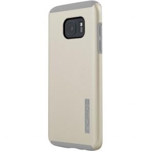 Incipio DualPro for Samsung Galaxy S7 edge -Champagne/Light Gray