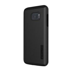 Incipio DualPro Shine for Samsung Galaxy S7 edge -Black/Black
