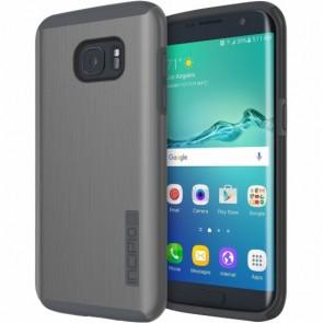 Incipio DualPro Shine for Samsung Galaxy S7 edge -Gunmetal/Gray