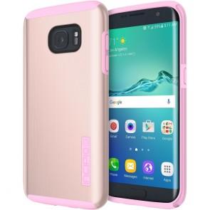 Incipio DualPro Shine for Samsung Galaxy S7 edge -Rose Gold/Pink