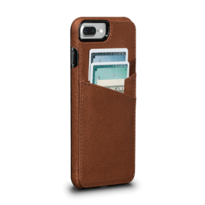 Sena Bence Lugano Wallet Saddle iPhone 8/7 Plus
