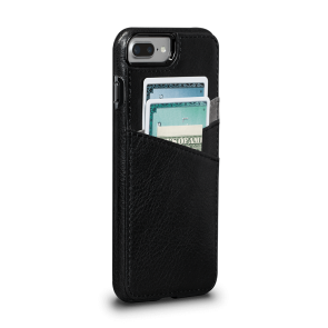 Sena Bence Lugano Wallet Black iPhone 8/7 Plus