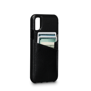 Sena Bence Lugano Wallet Black iPhone X