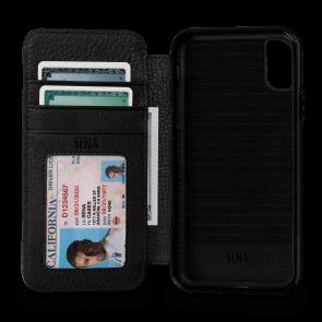 Sena Bence WalletBook Black iPhone X