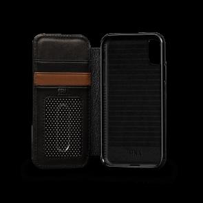 Sena Deen iPhone Xs Max Walletbook Black