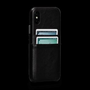 Sena Deen iPhone X/Xs Snap On Wallet Black