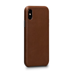 Sena Deen iPhone XR LeatherSkin Saddle
